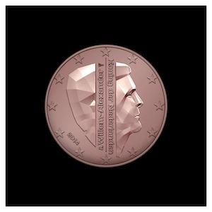 2 ¢ - King Willem