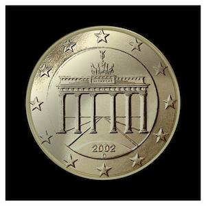 50 ¢ - Brandenburg Gate