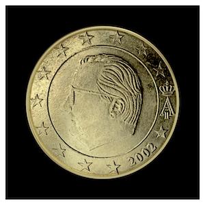 50 ¢ - Albert II a