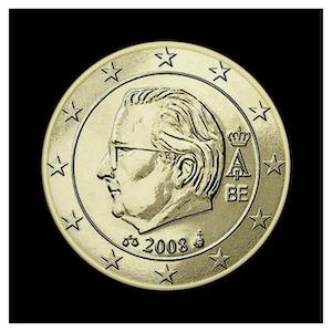 50 ¢ - Albert II b - (2008)