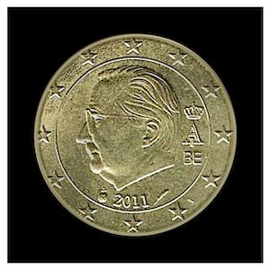 50 ¢ - Albert II c - (2009 - 2013)
