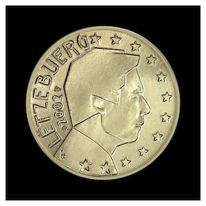 50 ¢ - Grand-Duc Henri