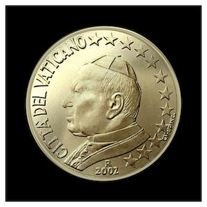 50 ¢ - Jean-Paul II