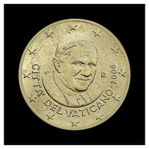 50 ¢ - Benoît XVI