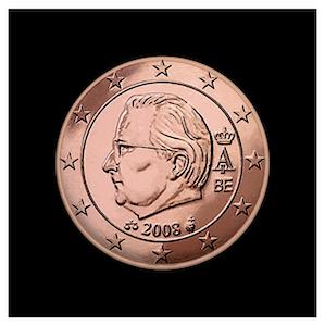 5 ¢ - Albert II b - (2008)