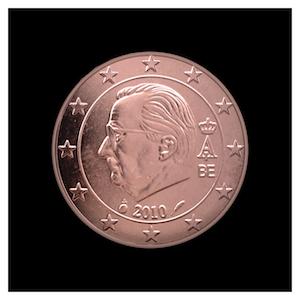 5 ¢ - Albert II c - (2009 - 2013)