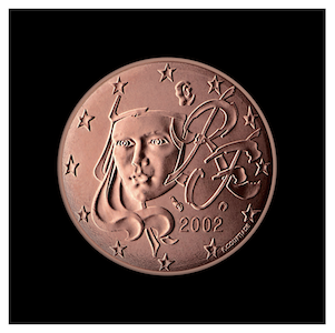 "5 ¢ - Modern interpretation of ""Marianne"""