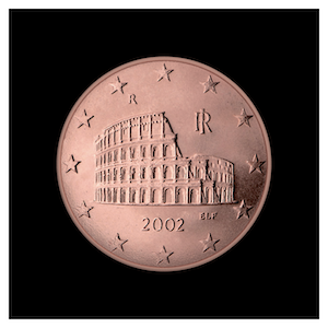 5 ¢ - The Colosseum of Rome