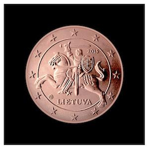 5 ¢ - The knight  VYTIS