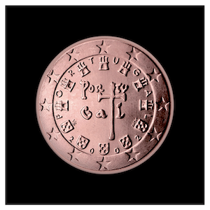5 ¢ -The first royal seal of 1134