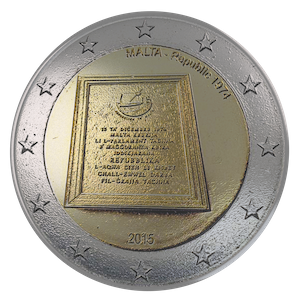 2015 - Republic of Malta 1974
