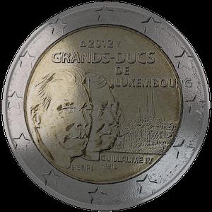 2012 - Grand Duke Henri and Grand Duke Guillaume IV